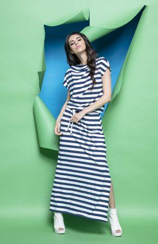 Długa sukienka oversize