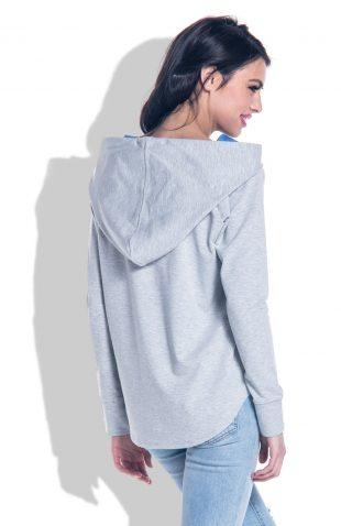 Bluza damska z kapturem luźna