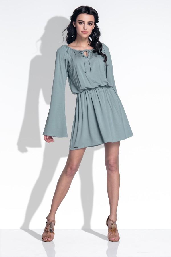 bc404c47c89b6c Luźna sukienka z szerokimi rękawami - Wysyłka już od 5,99 zł