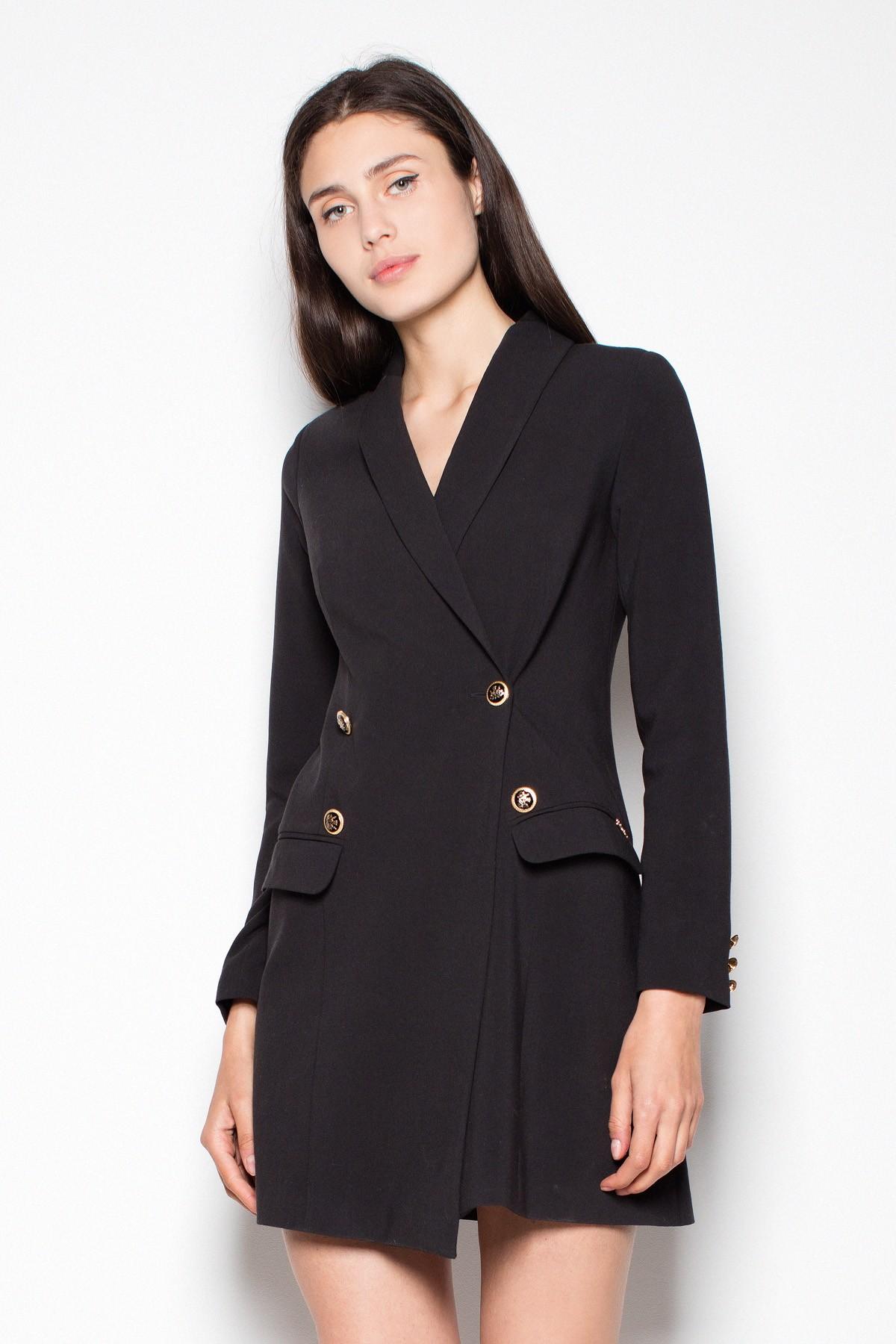 0f19af4e73 Sukienka żakietowa w kolorze czarnym - Wysyłka już od 5