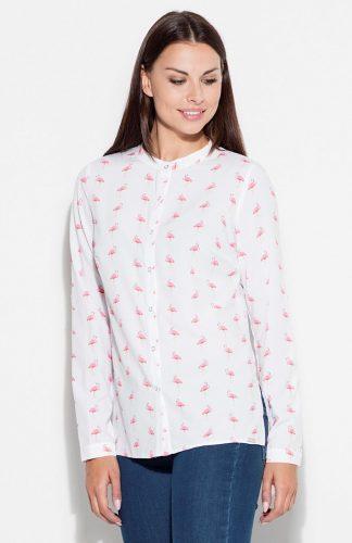 Koszula we flamingi