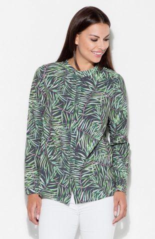 Koszula we wzory liście