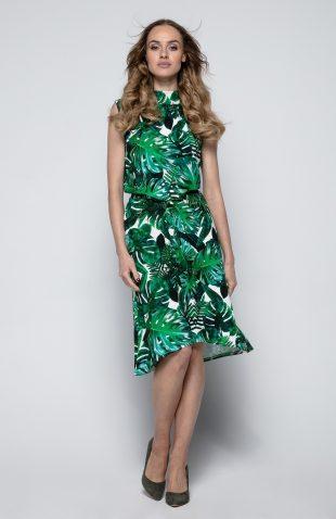 Sukienka z kwiecistym nadrukiem