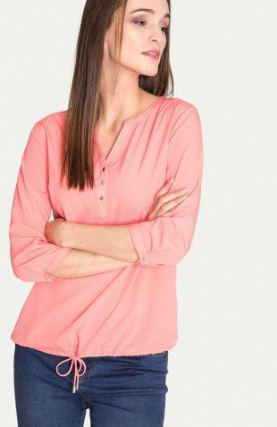 Elegancka bluzka na lato z troczkiem