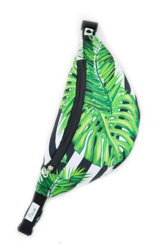 Nerka ze wzorem w tropikalne liście