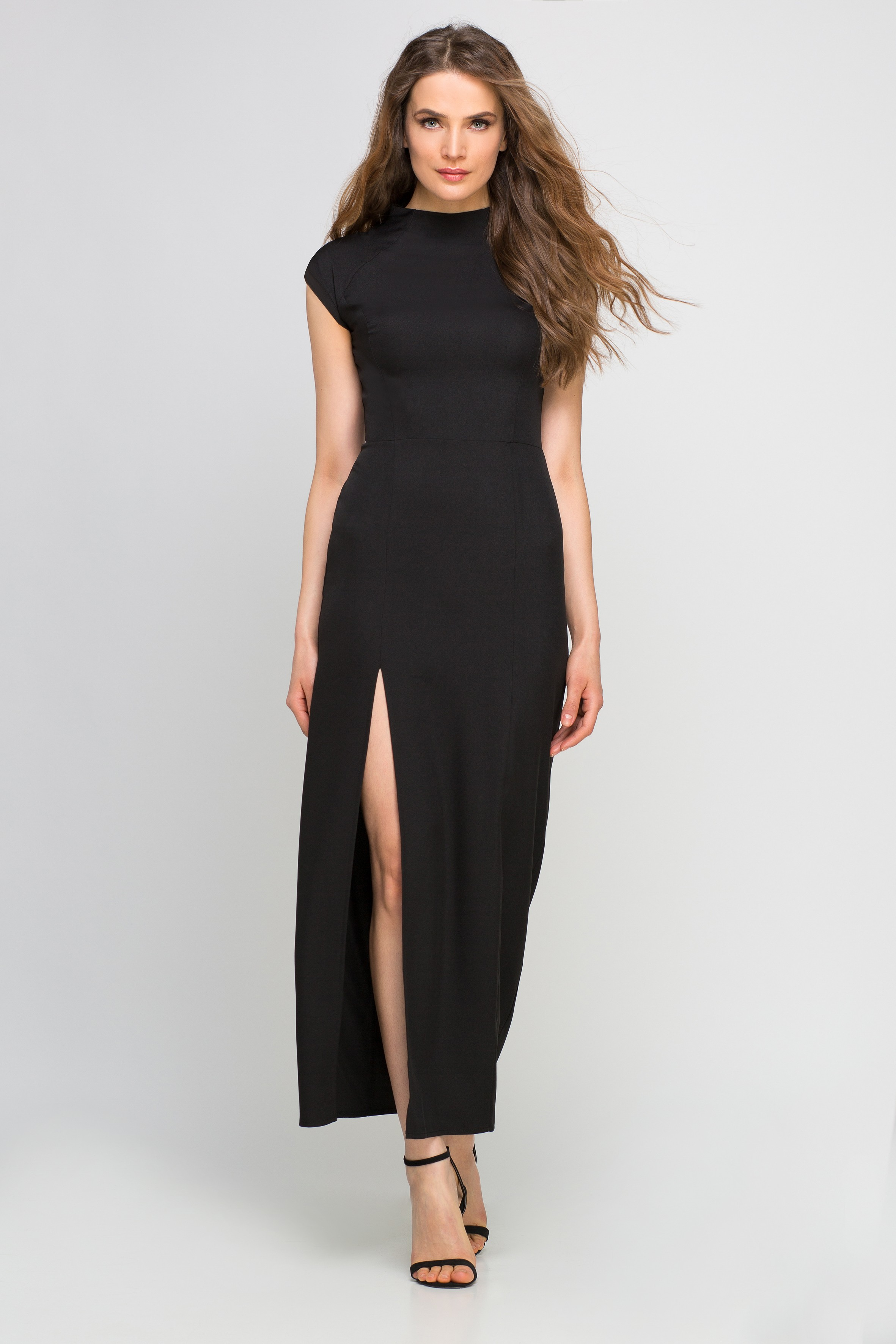 a4522b50f5 Letnia sukienka maxi na wesele czarna - wysyłka kurierem już od 5