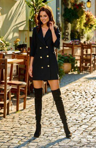 Elegancka garniturowa sukienka mini