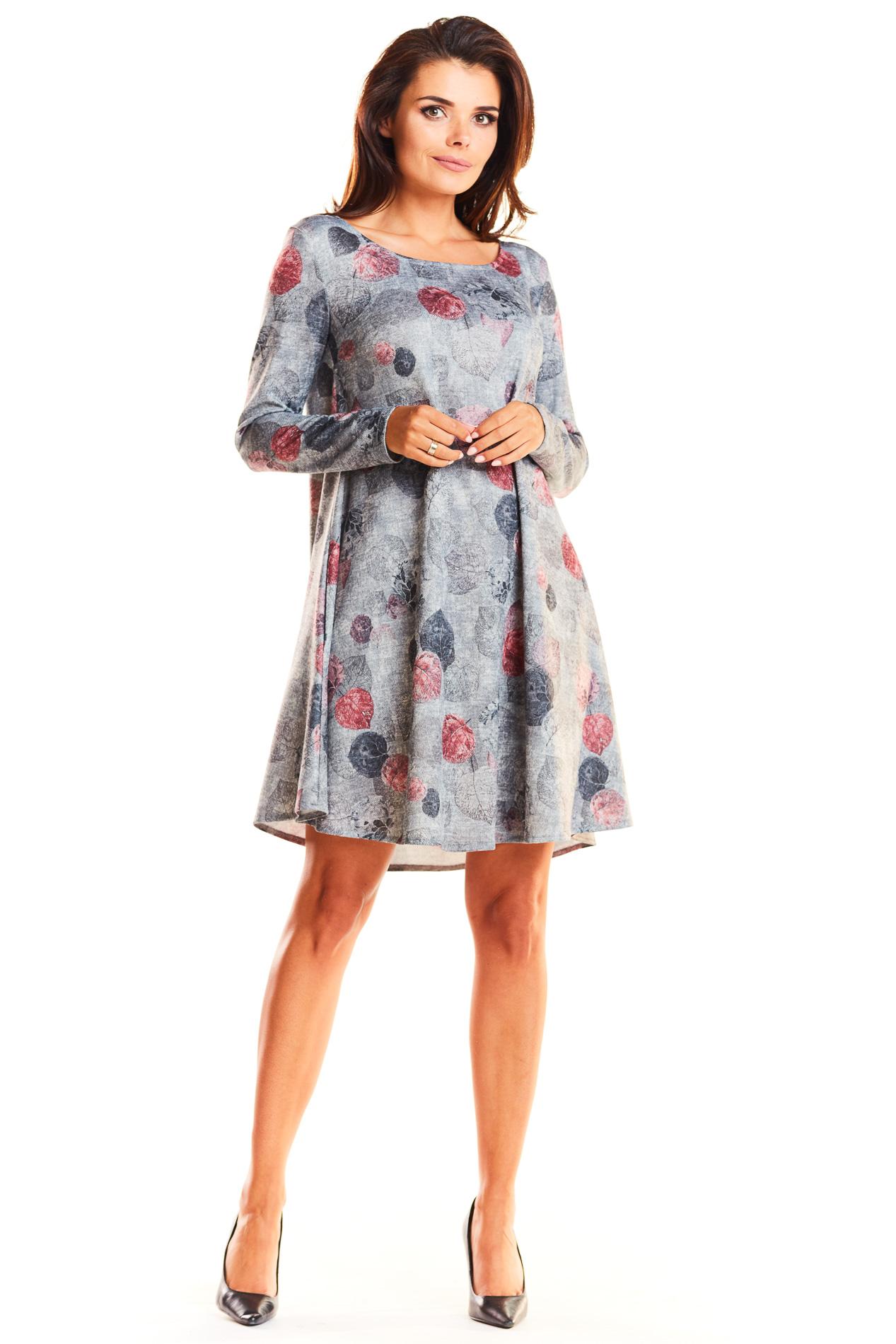 2598c8044bab6c Dzianinowa rozszerzana sukienka typu A - wysyłka kurierem już od 5,99 zł