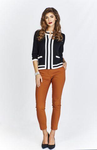 Sweter damski elegancki czarny