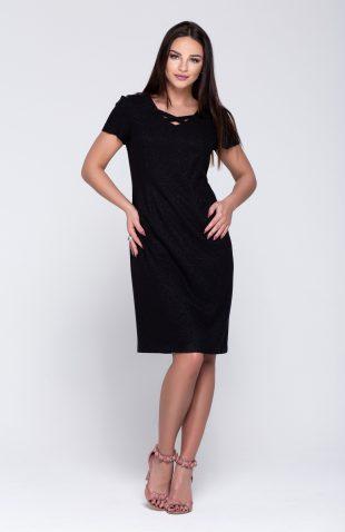 Sukienka ołówkowa elegancka połyskująca