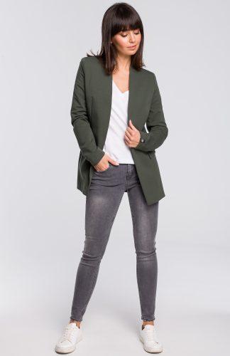 Żakiet dresowy plus size zielony