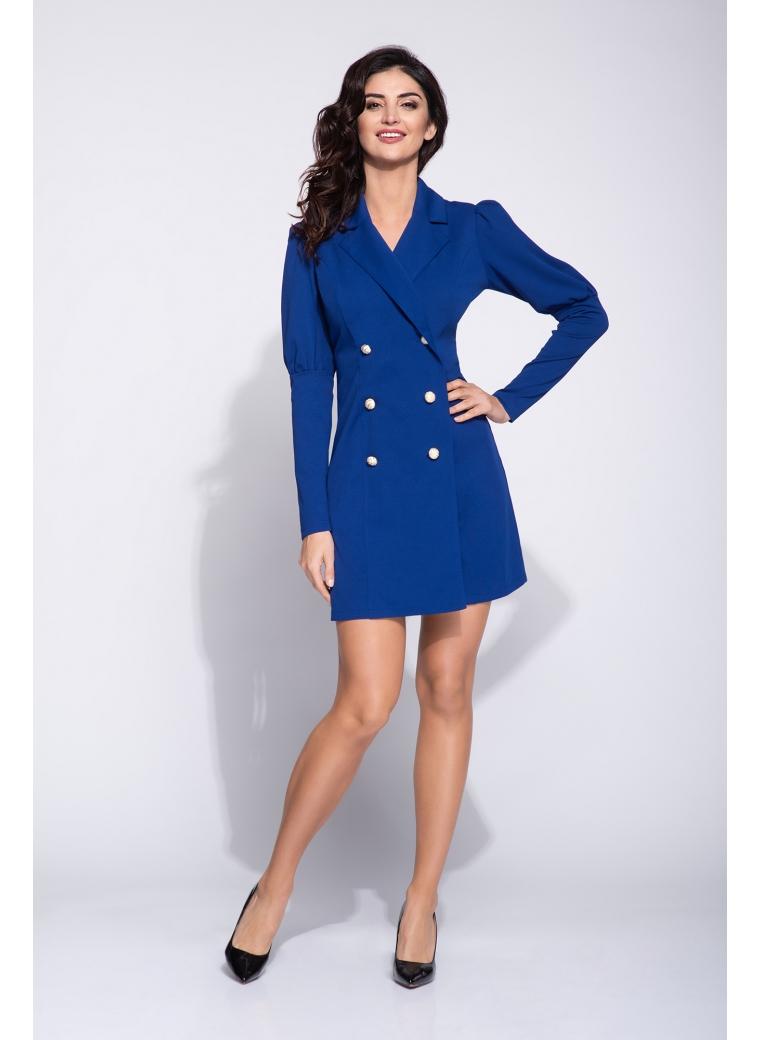 Sukienka o kroju marynarki mini