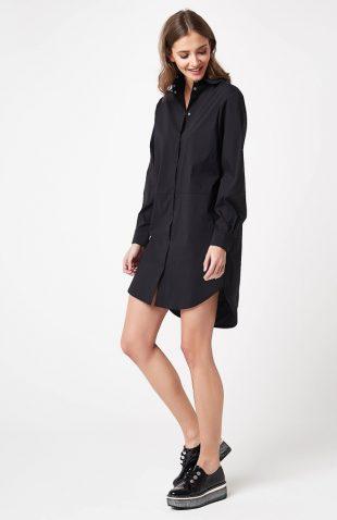Tunika koszulowa czarna
