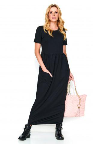 Sukienka do kostek czarna