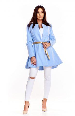 Elegancki wiosenny płaszcz damski
