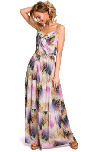 Sukienka maxi boho na ramiączka letnia
