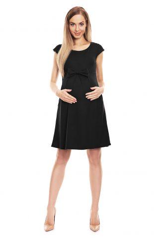 Sukienka ciążowa na lato czarna