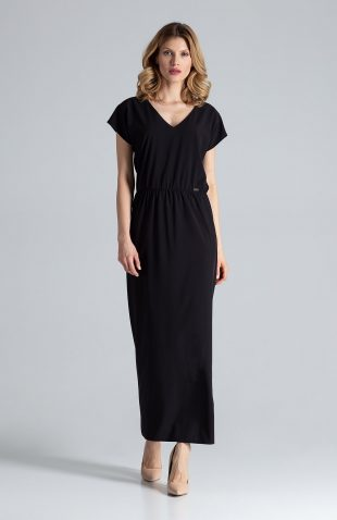 Sukienka maxi na lato czarna