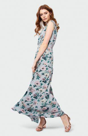 Sukienka na lato do kostek w kwiaty