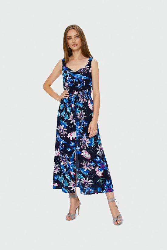 Sukienka maxi na ramiączka