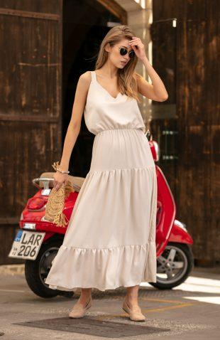 Sukienka maxi boho