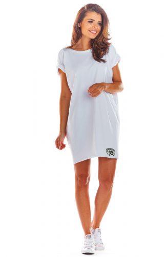 Sukienka bawełniana na lato biała