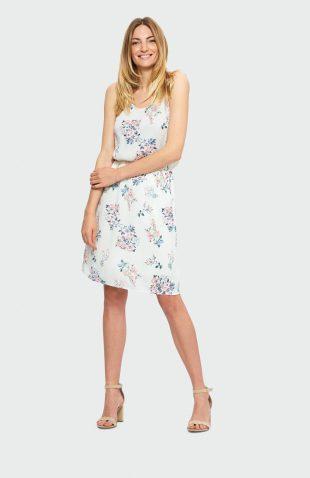 Sukienka na ramiączkach na lato