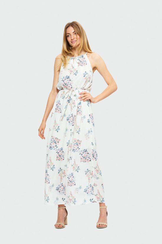 Zwiewna sukienka do kostek