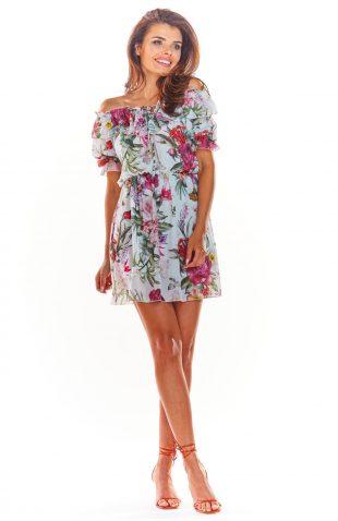 Sukienka hiszpanka mini