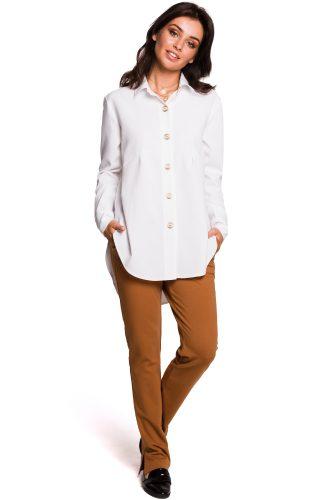 Koszula damska biała długa