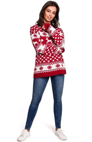 Sweter w świąteczne wzory
