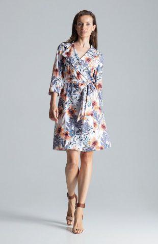 Sukienka kopertowa elegancka