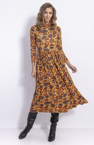 Sukienka midi boho