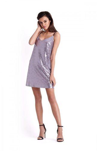 Sukienka cekinowa mini