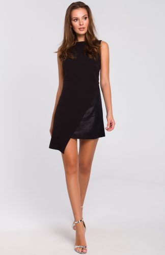 Sukienka wieczorowa mini czarna