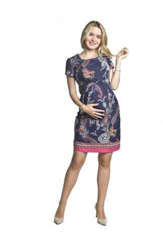 Sukienka ciążowa wizytowa ołówkowa