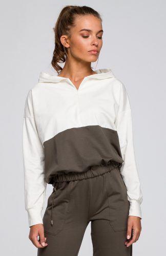 Bluza damska z kapturem bawełniana