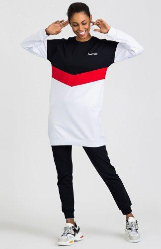 Bluza damska bawełniana długa