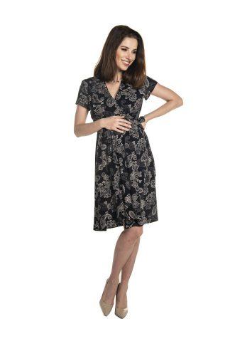 Sukienka ciążowa i do karmienia wizytowa elegancka